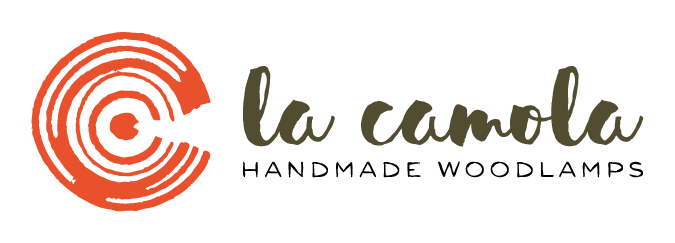 Logo La Camola Wood lamps